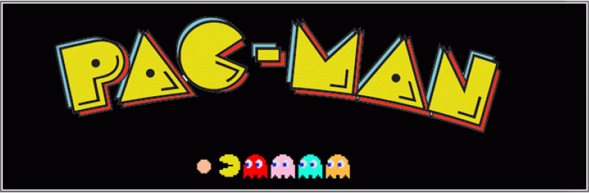 classic retro games including pacman, frogger, space invaders