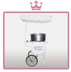 wedding candy floss