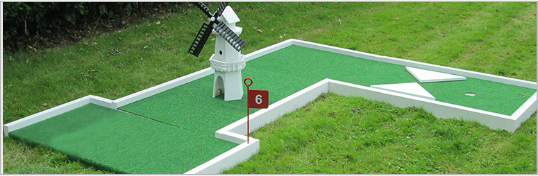 wedding mini crazy golf