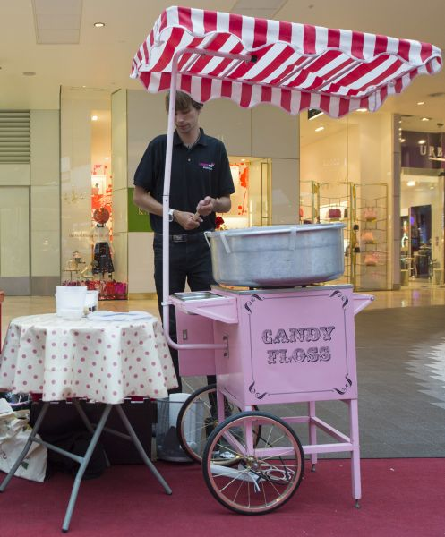 Candy Floss Machine Hire For Events And Parties